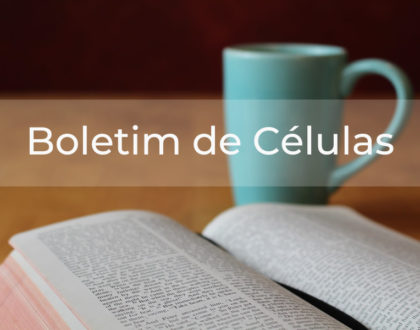 Boletim de Célula - OS IMPROVÁVEIS DE DEUS - PRINCÍPIO MEMÓRIA - O ESPÍRITO SANTO